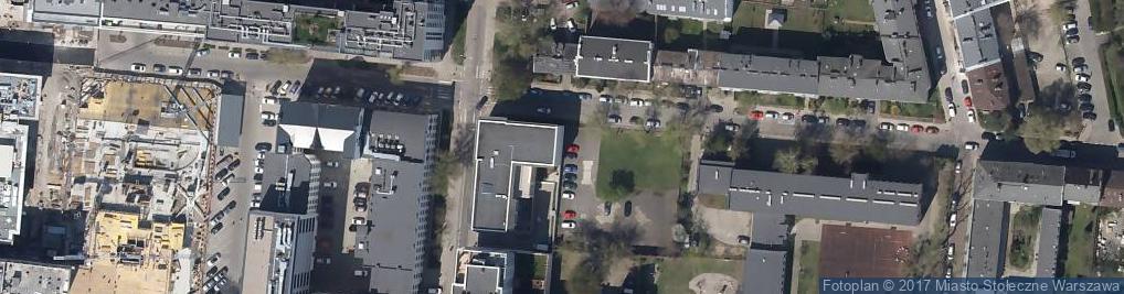 Zdjęcie satelitarne Pedagogiczna Biblioteka Wojewódzka im. KEN w Warszawie