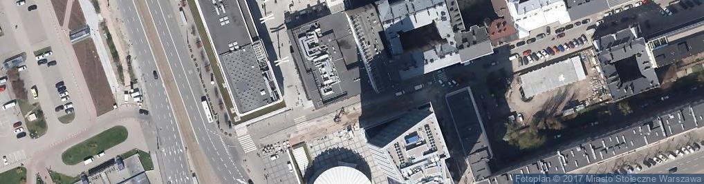 Zdjęcie satelitarne KFC