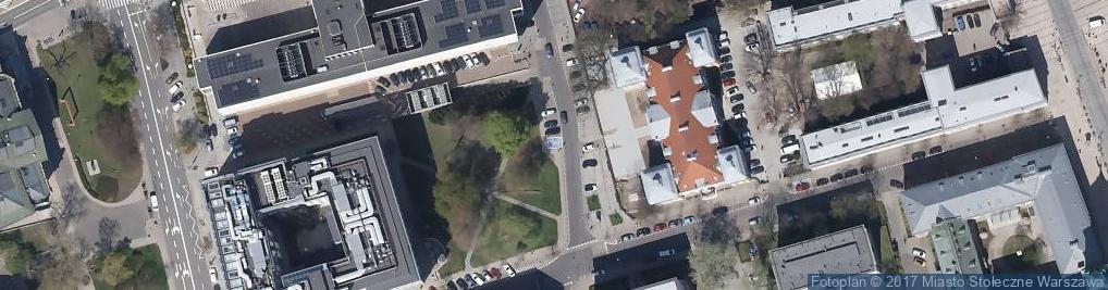 Zdjęcie satelitarne Parking dla niepełnosprawnych