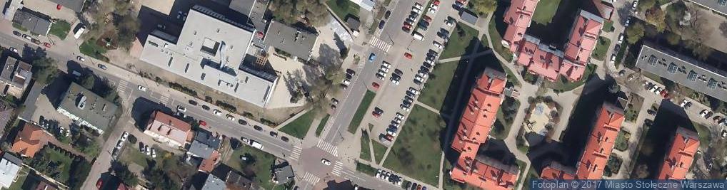Zdjęcie satelitarne Parking