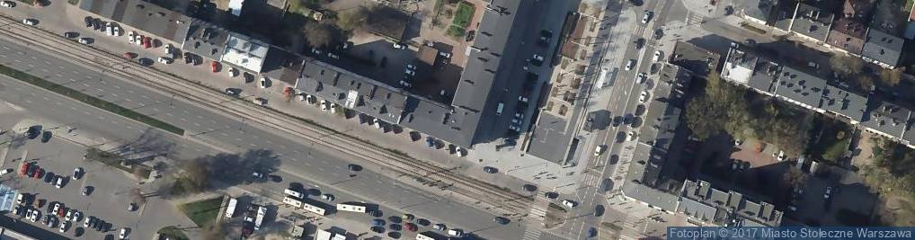 Zdjęcie satelitarne UP Warszawa 44