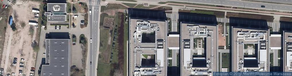 Zdjęcie satelitarne Porr Polska S.A.
