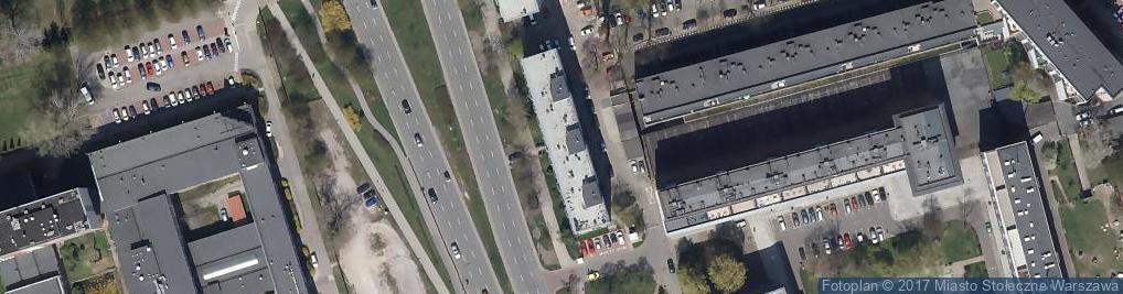 Zdjęcie satelitarne Przychodnia MULTI MED Waryńskiego