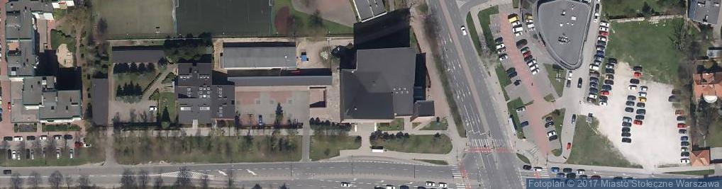 Zdjęcie satelitarne NMP Matki Kościoła