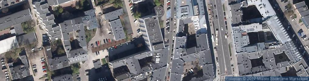Zdjęcie satelitarne 1001 Drobiazgów
