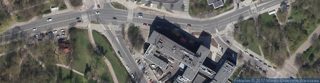 Zdjęcie satelitarne Szpital Kliniczny nr 1 im. W. Orłowskiego