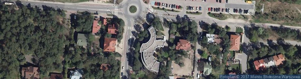 Zdjęcie satelitarne Urząd Dzielnicy Wesoła