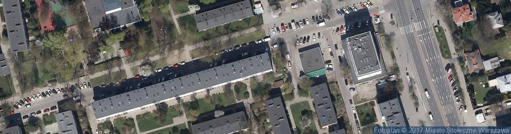 Zdjęcie satelitarne Zakład optyczny