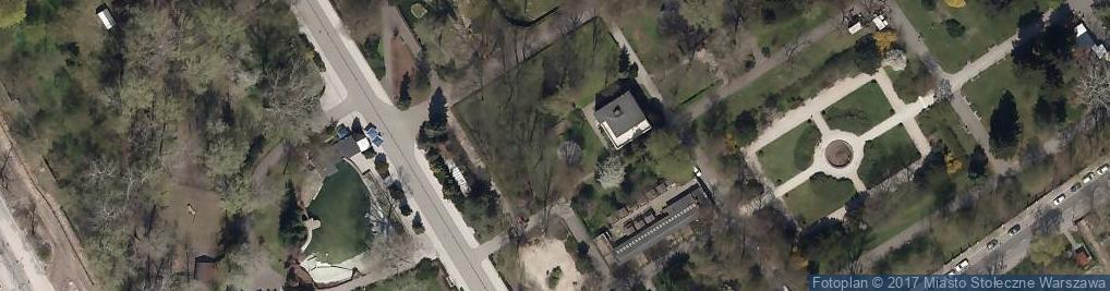 Zdjęcie satelitarne Miejski Ogród Zoologiczny