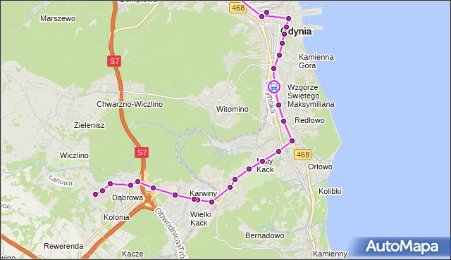 Rozkład jazdy autobusu 24 na przystanku Harcerska. ZKMGdynia na mapie Targeo