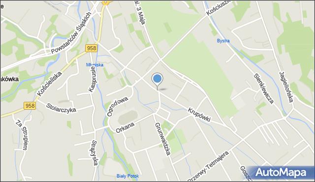 Zakopane, Krupówki, mapa Zakopanego
