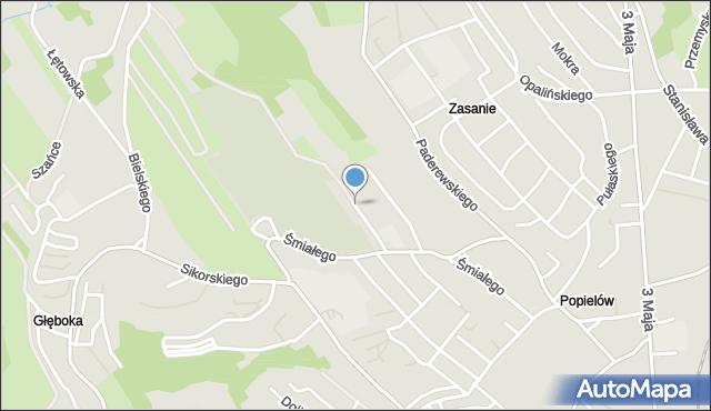 Przemyśl, Ulica Cmentarna, mapa Przemyśla