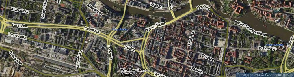 Zdjęcie satelitarne Białoskórnicza ul.