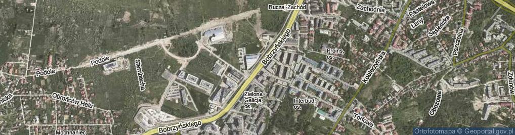 Zdjęcie satelitarne Bobrzyńskiego Michała, prof. ul.