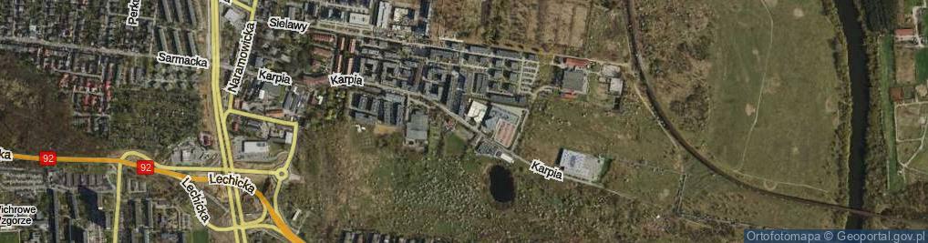 Zdjęcie satelitarne Karpia ul.