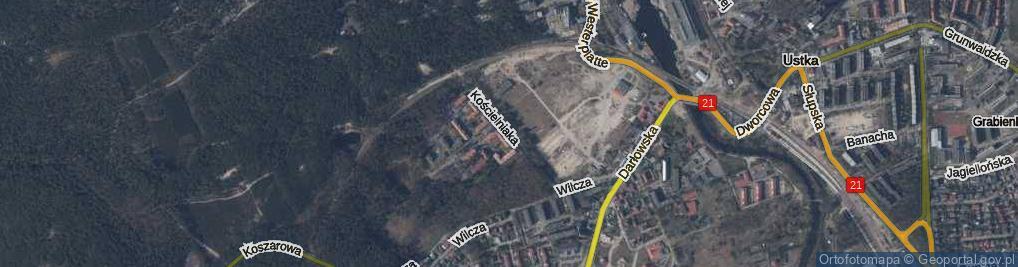 Zdjęcie satelitarne Kościelniaka Mieczysława ul.