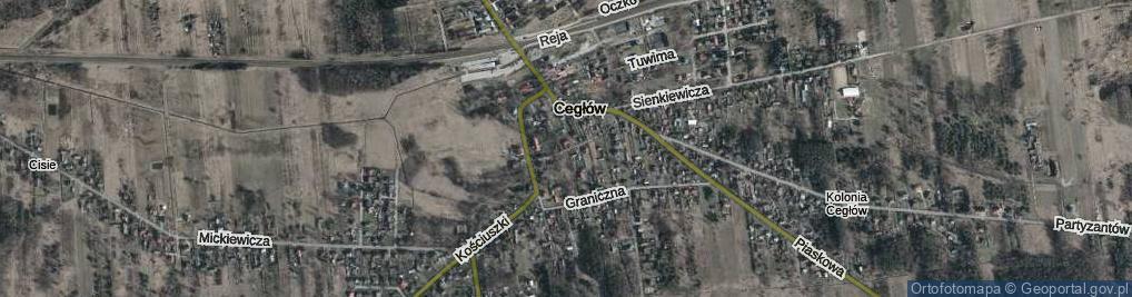 Zdjęcie satelitarne Mariawicka ul.