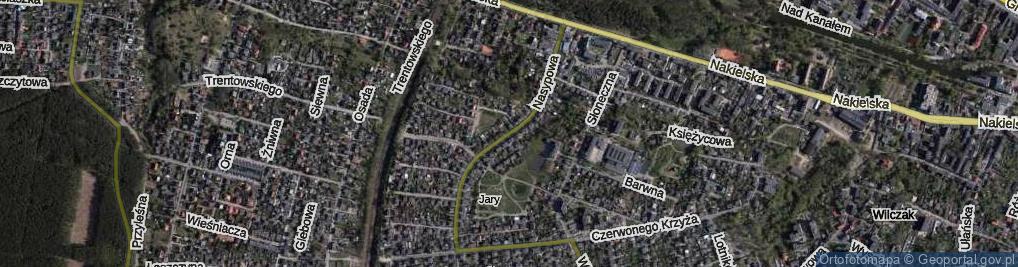 Zdjęcie satelitarne Nasypowa ul.