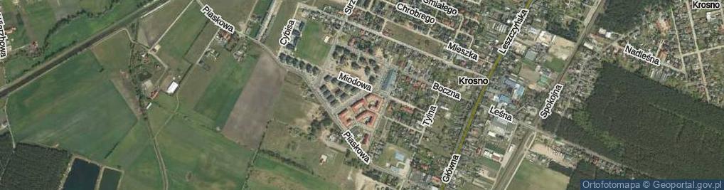 Zdjęcie satelitarne Nektarowa ul.