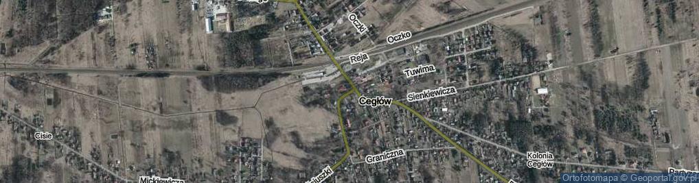 Zdjęcie satelitarne Plac Anny Jagiellonki pl.