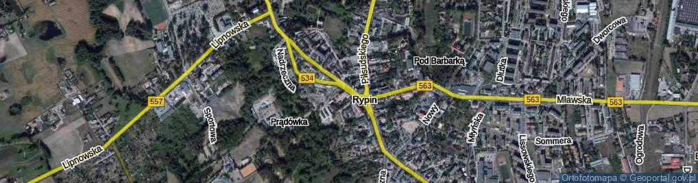 Zdjęcie satelitarne Plac Sienkiewicza Henryka pl.