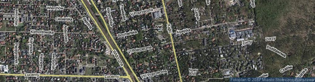 Zdjęcie satelitarne Rzeźbiarska ul.