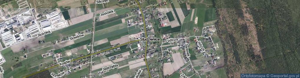 Zdjęcie satelitarne Studzienice ul.
