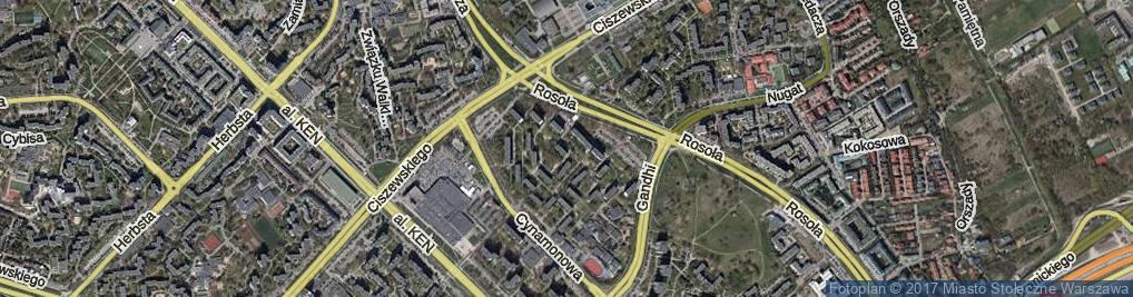 Zdjęcie satelitarne Strzeleckiego Pawła Edmunda ul.