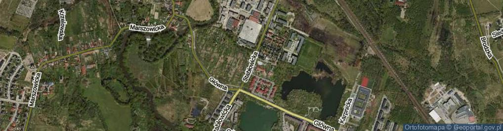 Zdjęcie satelitarne Stabłowicka ul.
