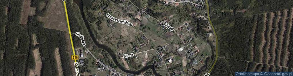 Zdjęcie satelitarne Szamarzewskiego Augustyna, ks. ul.