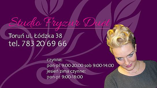 Studio Fryzur Duet Chmielewska Agnieszka łódzka 38 Toruń 87 100