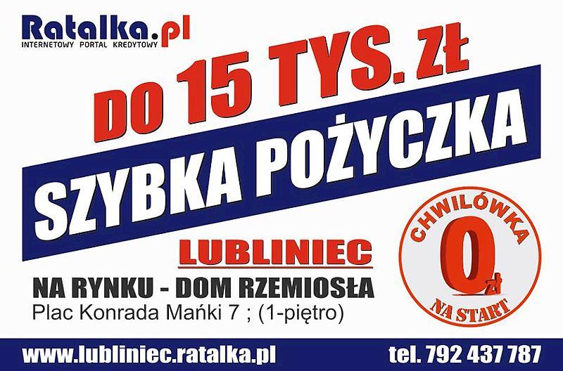 Ratalka.pl - Kredyty, Pożyczki, Chwilówki - Lubliniec, Lubliniec 42.